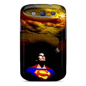 Protector Cell-phone Hard Covers For Samsung Galaxy S3 (NpA5866GhbP) Unique Design Trendy Superman Skin
