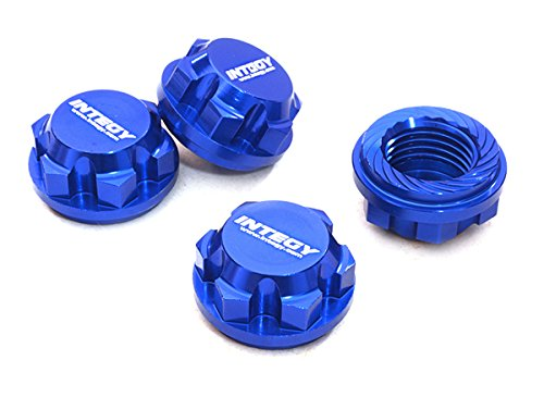 Integy Wrench (Integy RC Model Hop-ups C27073BLUE Billet Machined 17mm Hex Wheel Nuts (4) for Traxxas X-Maxx 4X4)