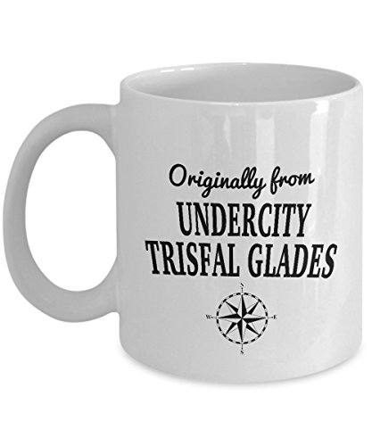World of WarCraft Mug - Originally from Undercity, Trisfal Glades - Cool Ceramic 11oz and 15oz Coffee Mug - World's Best Video Game Fans Gift