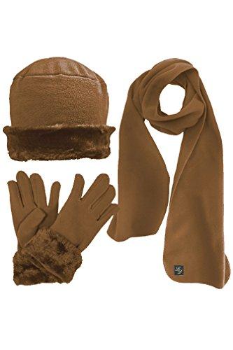 Luxur (Brown Cloche Hat)