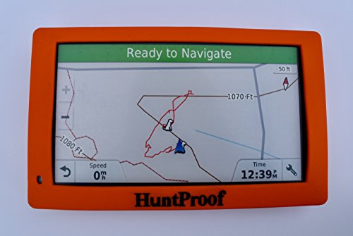 ORANGE HUNTPROOF PROTECTIVE CASE WITH SCREEN PROTECTOR FOR GARMIN DRIVETRACK 70