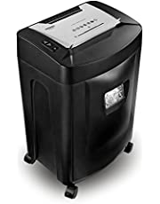 Duronic Paper Shredder PS991 | 18x A4 Sheets at a Time | Destroys Credit Cards & CDs | Cross Cut | Electric Shredder | GDPR: Protects Against Data Theft | Extra Large 31 Litre Bin | Home or Office