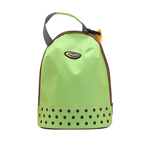 Sealive Baby Insulated Bag Water Drink Bottle Cooler Carrier Cover Sleeve Tote Bag Mummy Bag Handbag Insulation Lunch Package for Outdoor Travel(Green)
