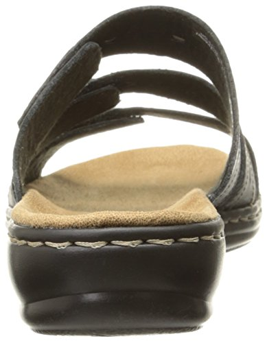 Clarks Narrative Leisa Broach Mujer US 8 Negro Sandalia