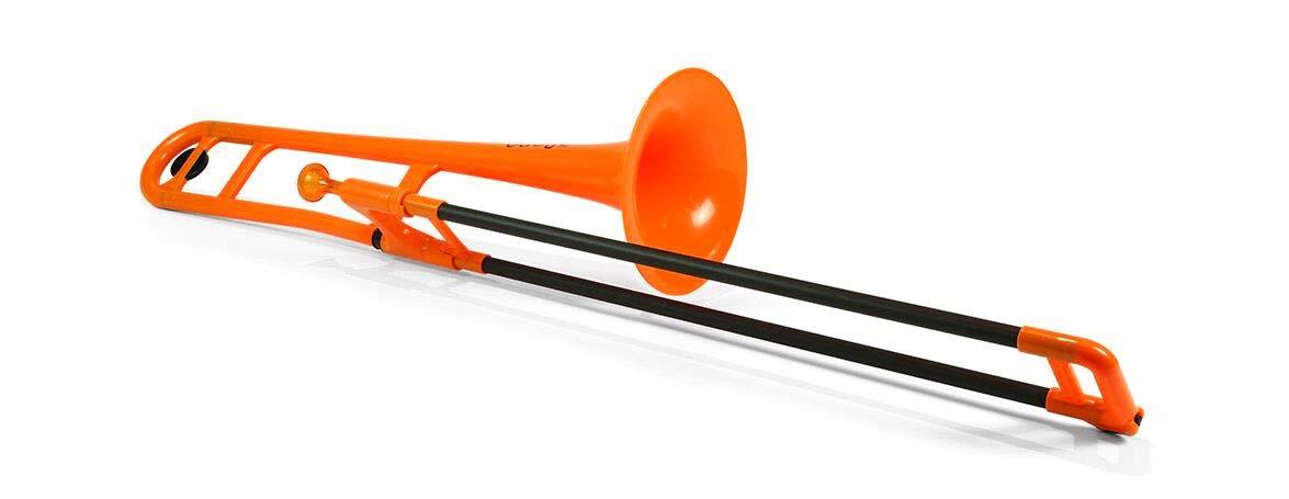 pBone PBONE1PNK Jiggs Plastic Trombone Pink