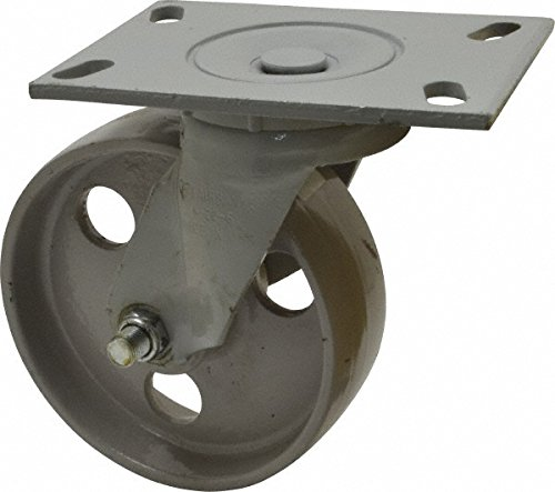 The Fairbanks Company W26-4-IRB - Series W26 Medium-Duty Casters, Roller Bearing, Swivel, Semi Steel, 1000 lb. Load Capacity, 4'' x 2'', 4'' Length, 5.625'' Height, 4'' Width by The Fairbanks Company