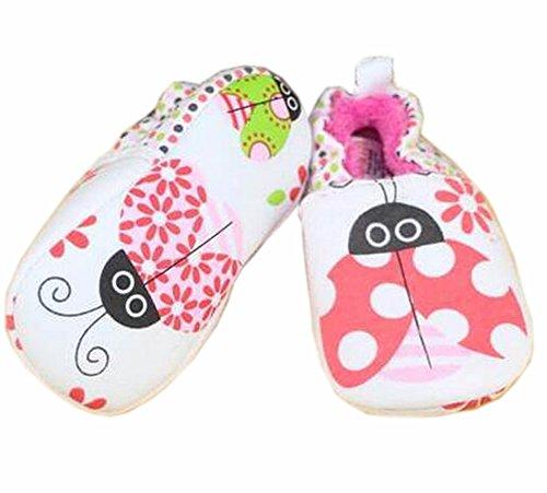 Baby Zuerst Walkers weiche Sohle Baumwolle Kleinkind -Schuhe soft nap rot