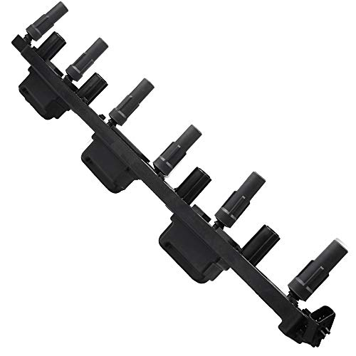 (SCITOO Ignition Coils Compatible with UF296 Fits for Jeep Cherokee/Jeep Grand Cherokee/Jeep Wrangler 2000-2006)
