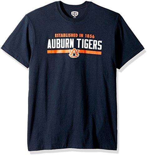 (NCAA Auburn Tigers Men's OTS Rival Tee, Fall Navy, X-Large)