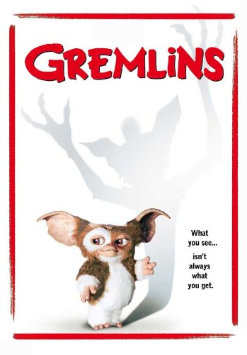 Gremlins Talking picture Poster (27 x 40 Inches - 69cm x 102cm) (1984) Style D -(Zach Galligan)(Phoebe Cates)(Hoyt Axton)(Polly Holliday)(Frances Lee McCain)(Keye Luke)