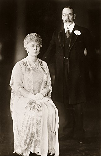 George V (1865-1936) Nking Of Great Britain 1910-1936 Photographed With His Wife Queen Mary 1920 Poster Print by (24 x 36)