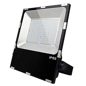Proyector LED RGB+CCT Nichia, 100W, RF, RGB + Blanco dual ...