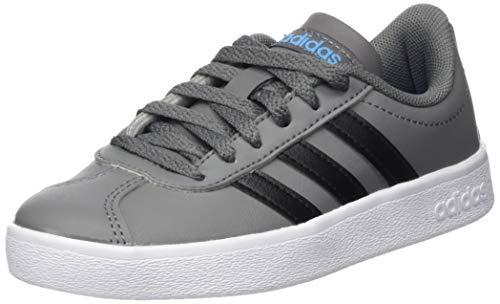 2 000 negbás Adidas Vl Zapatillas Unisex Deporte Niños gricua ftwbla 0 De Court K Multicolor gwEw6