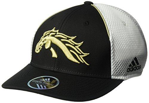 adidas NCAA Western Michigan Broncos Adult Men Spring Game Structured Adjustable Hat, One Size, Black - Black Campus Adjustable Hat