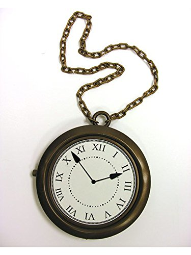 Forum Novelties Gold Rapper's Clock Necklace -