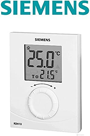 SIEMENS Ingenuity for life - Termostato digital RDH10