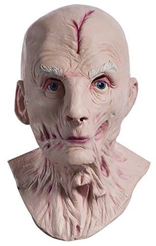 Rubie's Adult Star Wars Episode VIII: The Last Jedi, Supreme Leader Snoke Overhead Latex Mask, As Shown, One Size