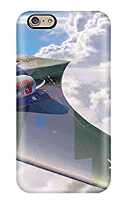 Flexible Tpu Back Case Cover For Iphone 6 - Aircraft