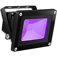 UV LED Black Light, HouLight High Power 10W Ultra Violet...