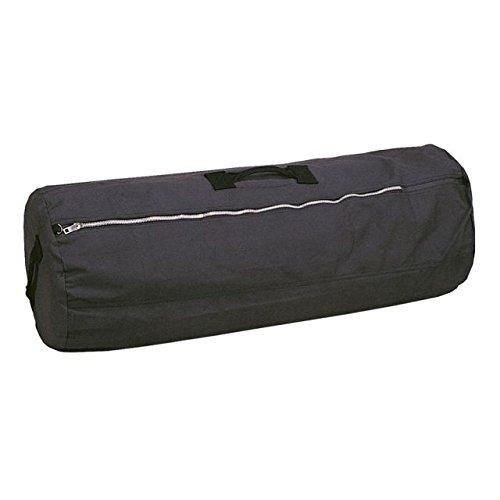 Stansport Duffel Bag (Stansport Duffel Bag with Zipper, Black, 21