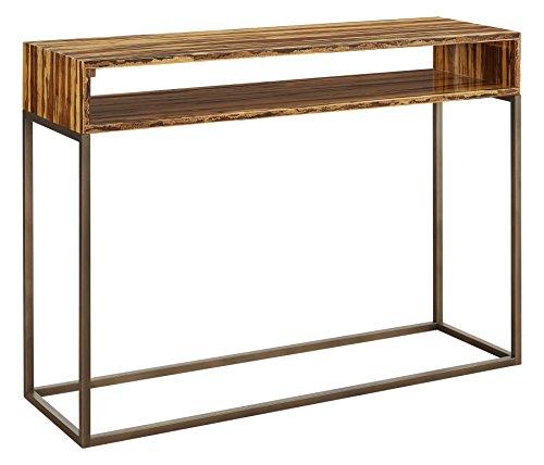 Greenington G0057T Toronto Bamboo Console Table Exotic Tiger (Console Toronto Tables)