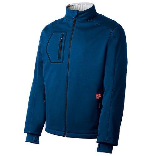 Gerbing's Men's Mountain Sport SoftShell Jacket-2Xlarge-Blue
