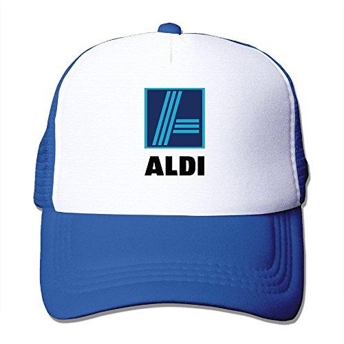 cool-aldi-adult-baseball-trucker-hat-baseball-cap-one-size-royalblue