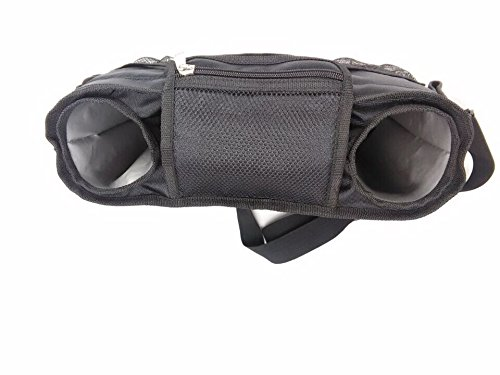 Stroller Organizer with Bonus Shoulder Strap - Baby Diaper Bag – Baby Accessory Bag – Baby Shower Gift – Water Proof & Eco-Friendly baby bag – Fits all Stroller – Stroller Organizer Baby Jogger by Zafmen (Image #9)