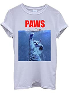 Meow Or Never Ladies T Shirt Crazy Cat Lady Top Cute Fashion Slogan Funny Swag