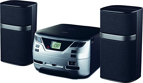 Coby CXCD-09-BLK CD Micro-System with AM/FM Radio