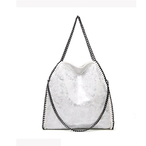 Plata para mujer bag TOYIS slouch al Talla hombro única Bolso vx4qz