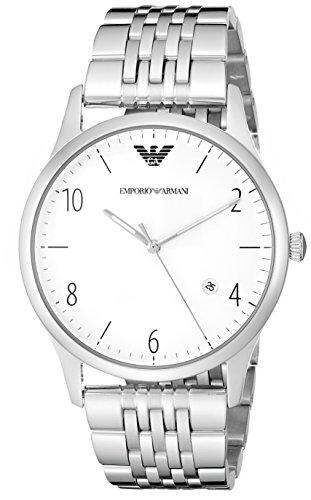 Emporio Armani Men's AR1867 Dress Silver Watch