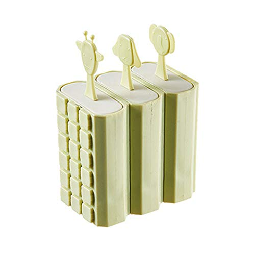 (Popsicle Molds with Sticks Ice Pop Maker | BPA Free Silicone Funnel and Cleaning Brush | Clearance Sale)