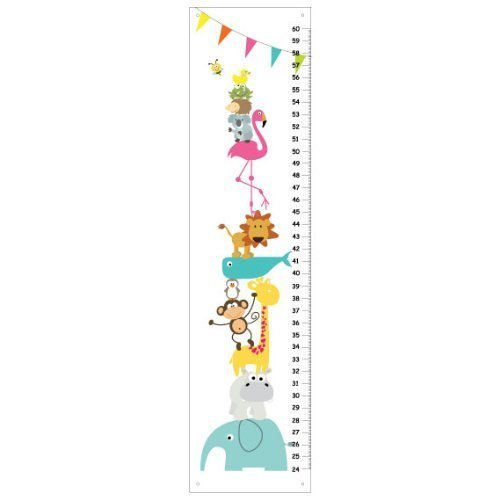 stacked Animals - Elephant, Monkey, Giraffe, koala, frog, bee - Kids Bedroom Baby Nursery Wall Art (Stacked Frogs)
