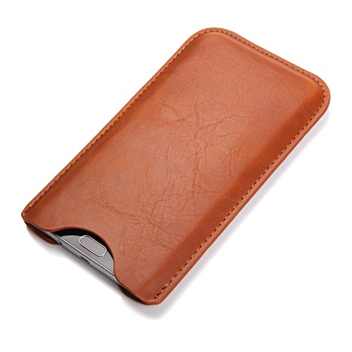 Bear Motion for Note 5 - Bear Motion For Galaxy Note 5 - Premium Sleeve Pouch Case for Galaxy Note 5 - Brown