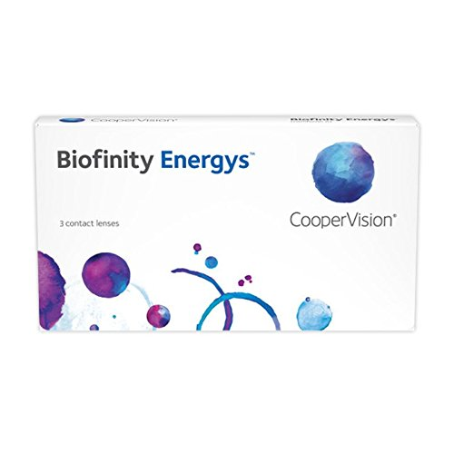4db3f4dba5 Biofinity Energys - Lentes de contacto esféricas mensuales (R 8.6 / D 14.0  / -3.00 Diop), Pack de 3 uds.: Amazon.es: Salud y cuidado personal