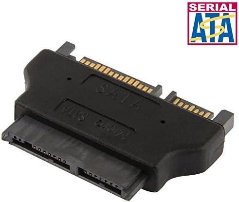 XIAOMIN Micro SATA 16 Pin to SATA 22 Pin Converter Adapter Durable