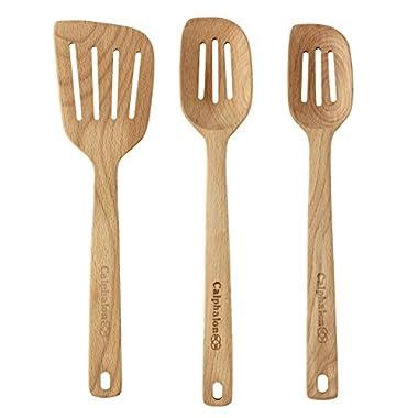 Calphalon 3-pc. Slotted Wood Spoon & Turner Set