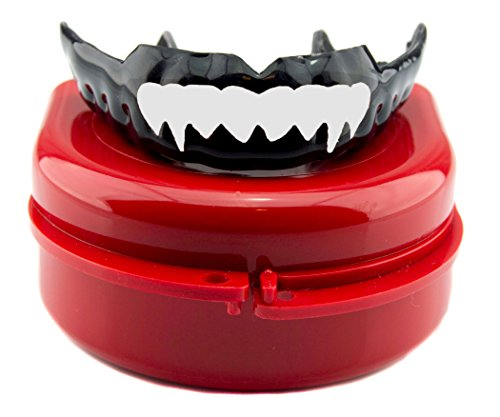 Impact Custom Professional 4mm Thin Profile Roller Derby Mouthguard White Fangs S/M by Impact Custom Mouthguard