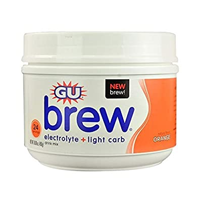 GU Energy Labs Brew Electrolyte Plus Light Carb Sports Drink Mix