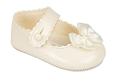 Lujo británico hecho bebita Crema  marfil blanco rosa Ocasión especial boda