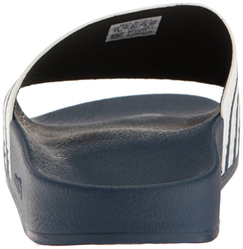 quality design 9b44e cd7a0 Blue Adidas Adilette white Adulto adidas Blue Ciabatte Unise