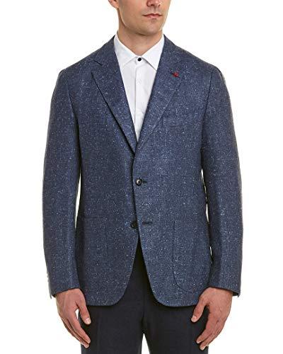 Isaia Mens Silk & Wool-Blend Sport Jacket, 54 7R