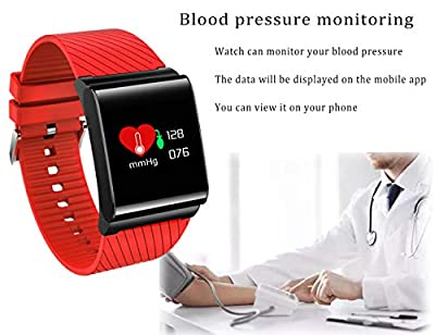 Smart Watch Fitness Tracker Brand LIGE Heart Rate Monitor Slim Sports Activity Tracker Watch Waterproof Pedometer Watch with Sleep Monitor for Kids Women and Men Android and IOS Phones Samsung