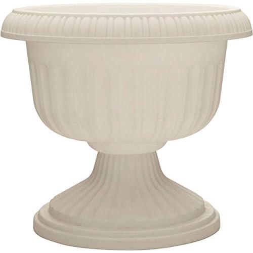 Dynamic Design UR1810WH Grecian Urn, White, 18-Inch Length