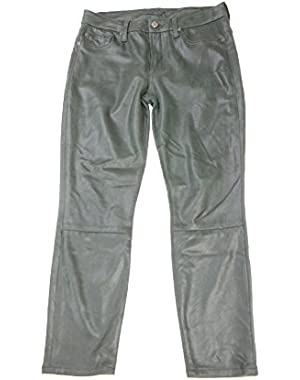 For All Mankind Green Snake Greyson Leggings