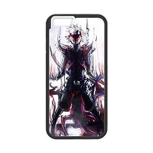 Tokyo Ghoul 004 funda iPhone 6 4.7 Inch Negro de la cubierta del teléfono celular de la cubierta del caso funda EVAXLKNBC09997