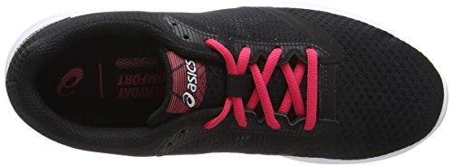 Pink Asics Noir Femme Chaussures black pixel De 001 Course Patriot 10 4Ozqn4r