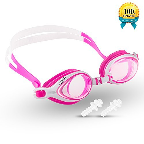 Swim Goggles, Swimming Goggles with UV Shied and Anti Fog for Adult Men Women Youth Kids - Swim Gear Me Near
