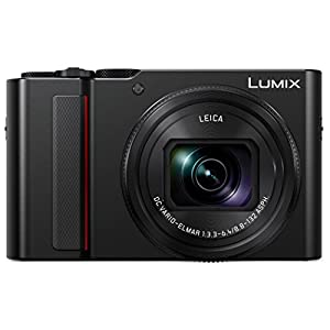 PANASONIC LUMIX ZS200 4K Camera 15X LEICA DC Vario-Elmar Lens DC-ZS200K (USA BLACK)